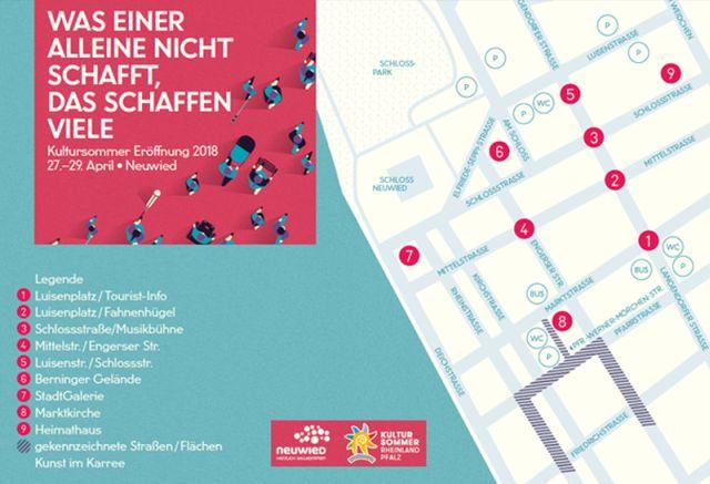 Kultursommer-Eröffnung in Neuwied vom 27.-29. April
