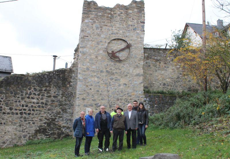 Kunstwerk an der Stadtmauer eingeweiht