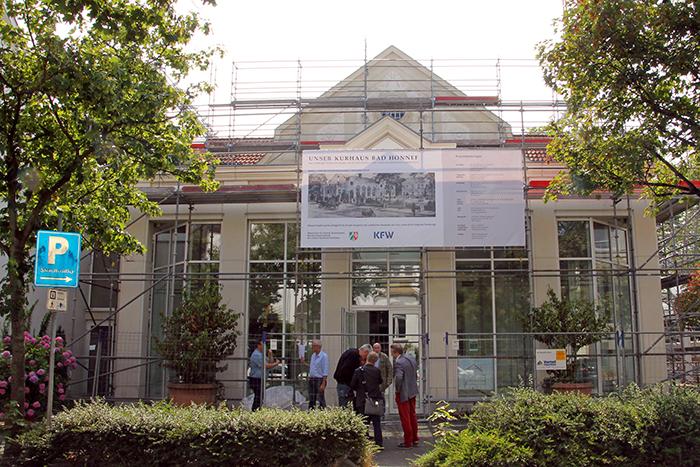 Bad Honnefer Kurhaus wird für sieben Millionen Euro renoviert