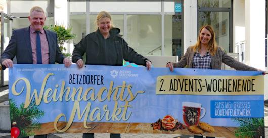 Weihnachtsmarkt in Betzdorf: Heimelige Atmosphäre und viel Musik