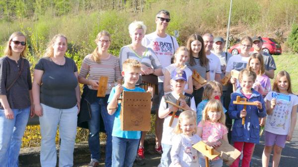 Holzklappern statt Glocken: Gr�nebacher pflegen uralten Brauch