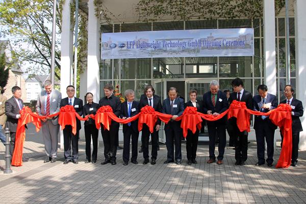 Chinesische Firma feierte Standort-Eröffnung in Bad Honnef