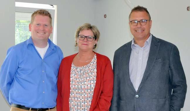 Bau des Pflegedorfs der Lebenshilfe in Flammersfeld schreitet voran