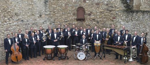 Das Landespolizeiorchester Rheinland-Pfalz. Foto: Veranstalter