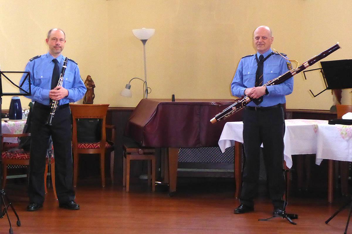 In Senioren-Residenz Sankt Antonius lag Musik in der Luft