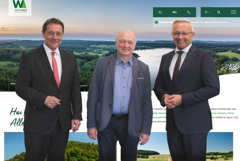 Relaunch der Westerwald-Homepage