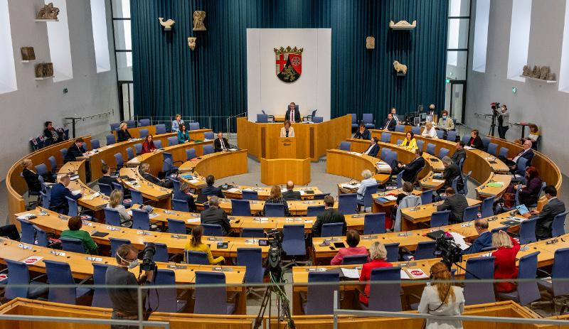 Am 14. März 2021 wird der neue Landtag von Rheinland-Pfalz gewählt. (Foto: Landtag Rheinland-Pfalz/Torsten Silz)