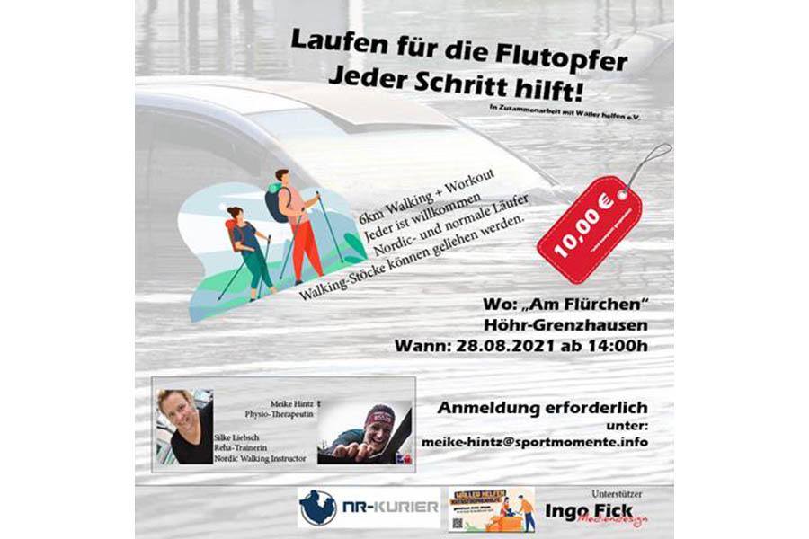 Laufen für die Flutopfer in Höhr-Grenzhausen