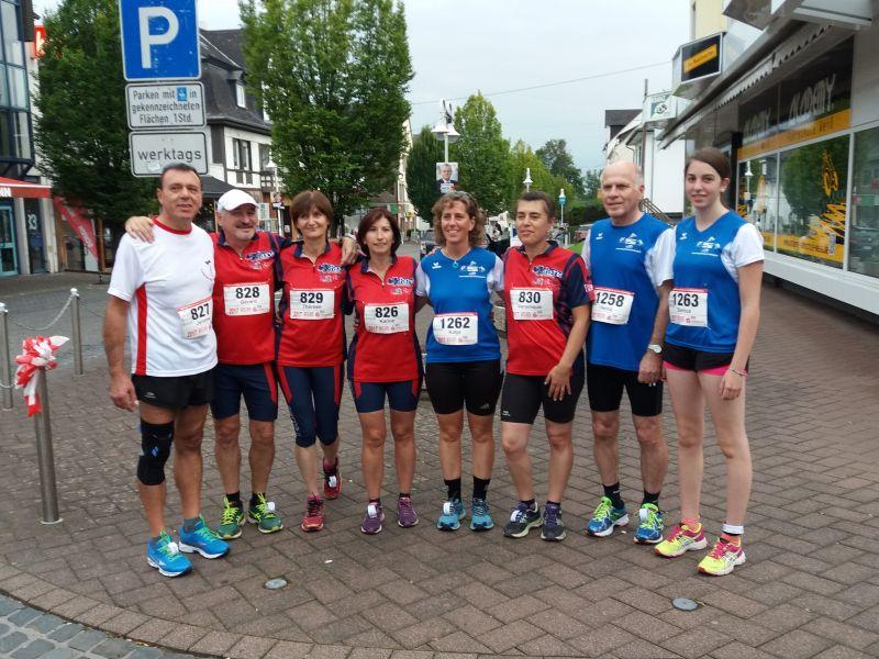 Sportlich in die Partnerstadt Pagny sur Moselle