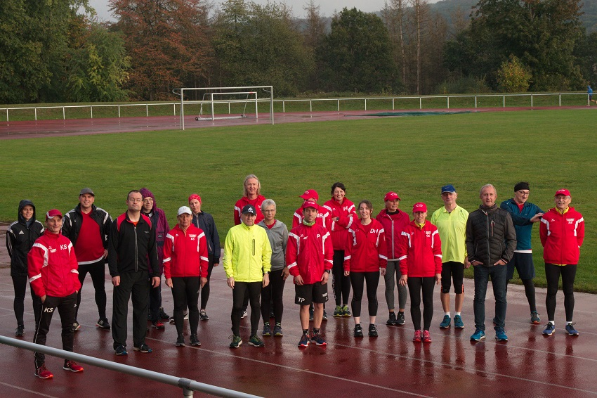 Gelebte Inklusion beim Lauftreff der SG Sieg in Hamm