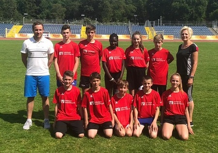 Leichtathletik-Team der IGS Hamm erreicht Landesfinale