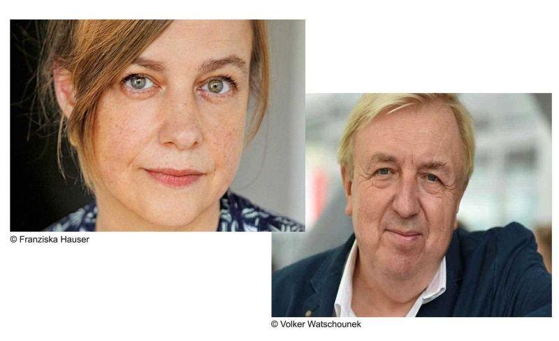 Mariana Leky und Hanns-Josef Ortheil. Foto: Veranstalter