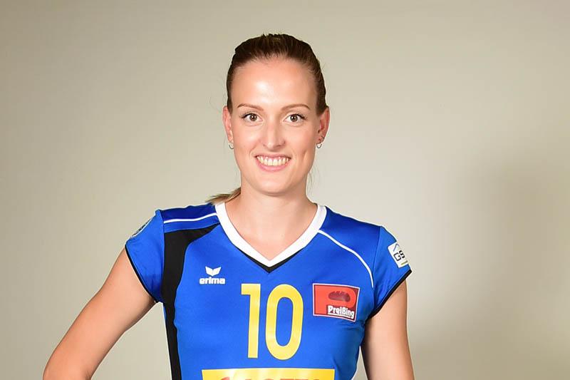 Lena Hoffmann bleibt ebenfalls beim VC Neuwied