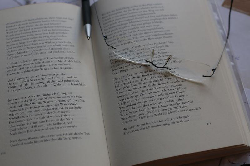 Herbert Kutscher liest Gedichte von Selma Merbaum