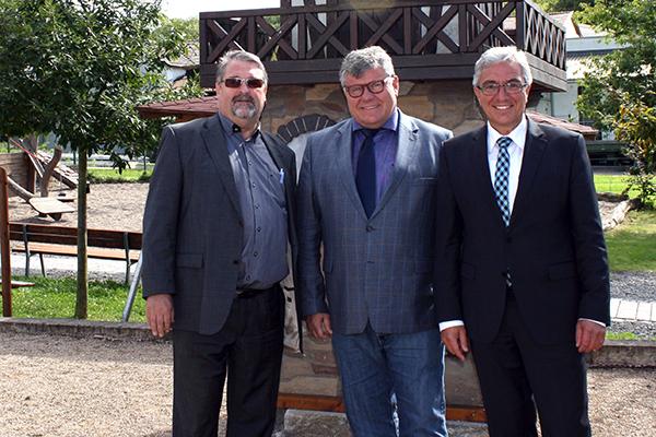 Innenminister Roger Lewentz besuchte Römer-Welt Rheinbrohl