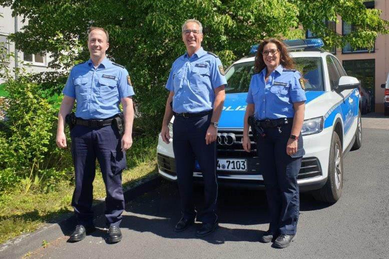 Neue Bezirksbeamte bei Polizeiinspektion Linz in Amt eingeführt