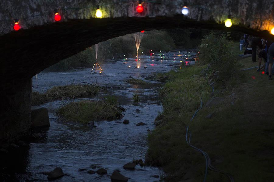 Mediterrane Stimmung beim Brückenfest in Limbach