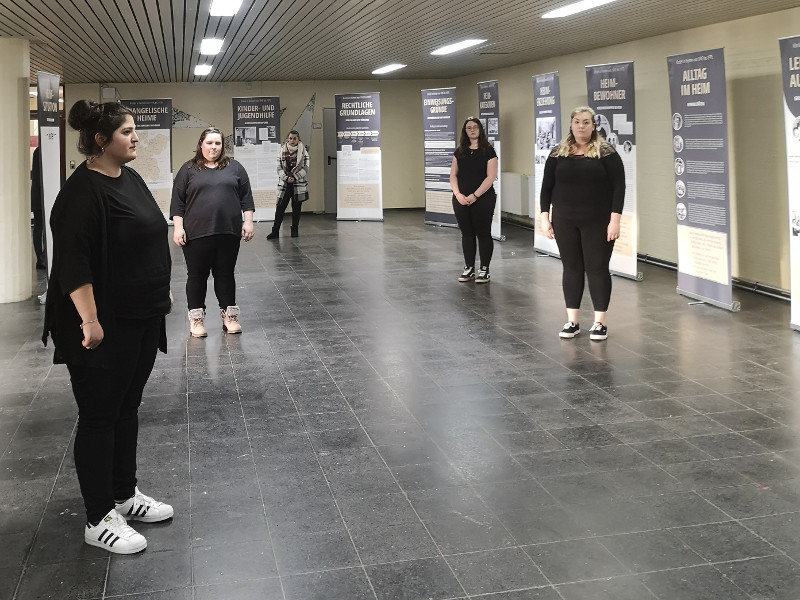 Ausstellungskultur wird an der Alice Salomon Schule fortgesetzt