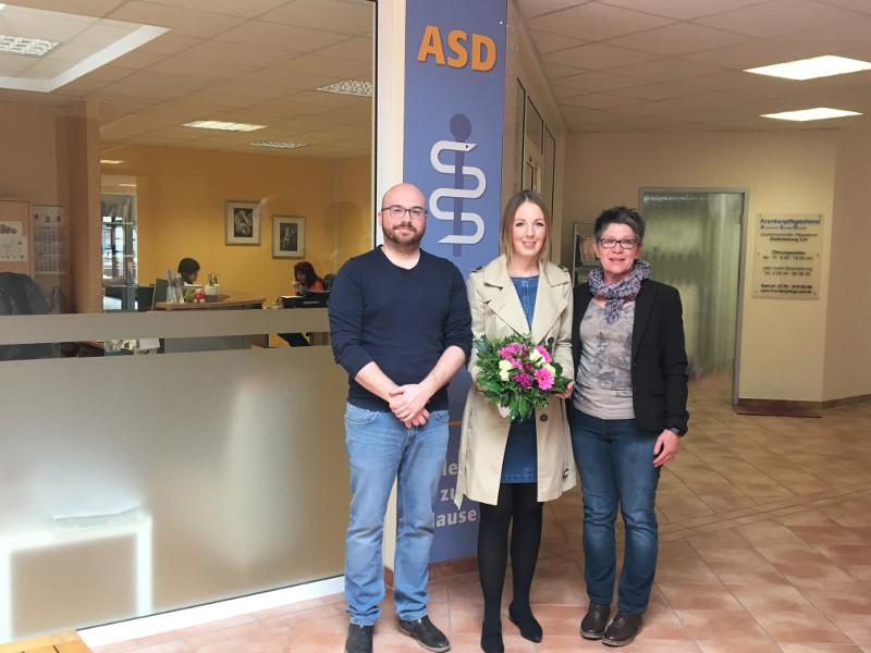 Demuth besucht die Einrichtungen der ASD in Linz