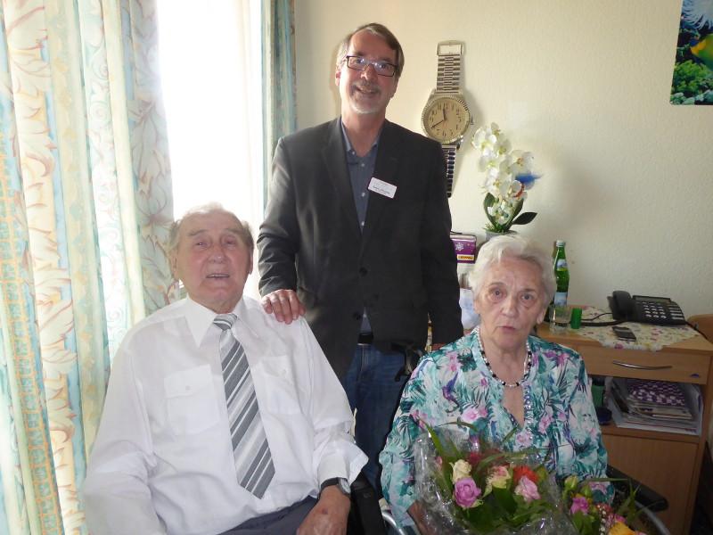Ehepaar Wydra feiert 65. Hochzeitstag