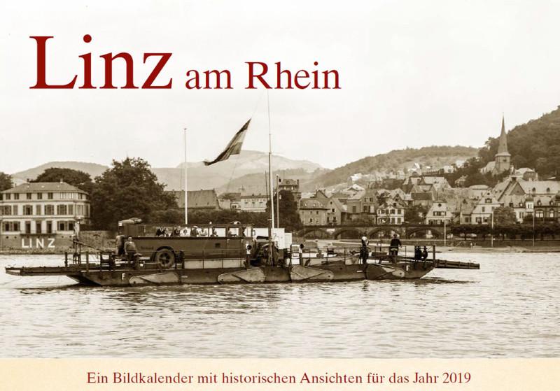 Historische Ansichten aus Linz: Bildkalender für 2019 erschienen