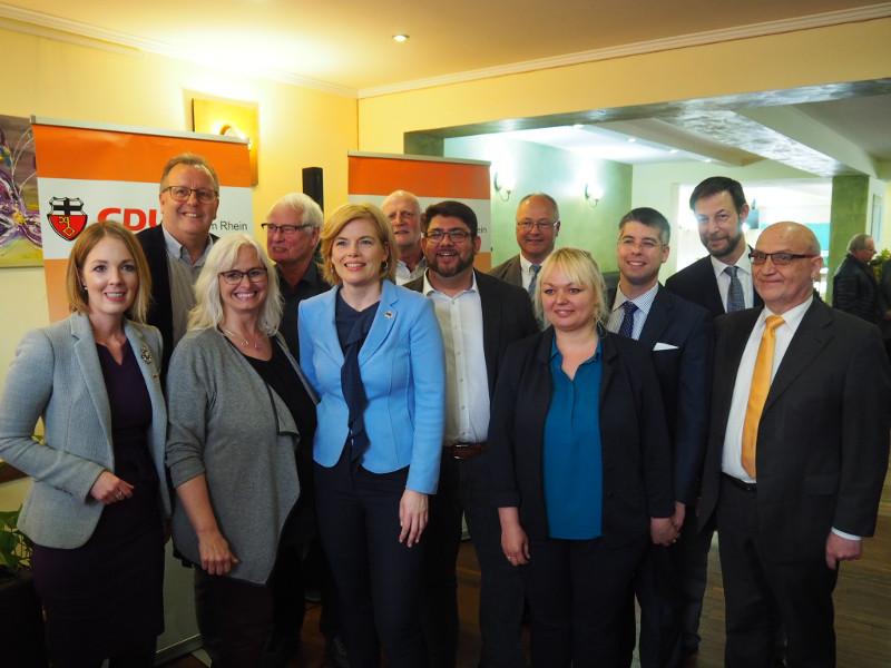 Bundeslandwirtschaftsministerin Klöckner zu Gast in Linz