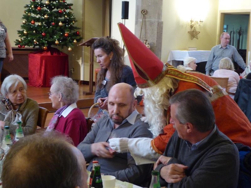 Es weihnachtete in der Senioren-Residenz Sankt Antonius