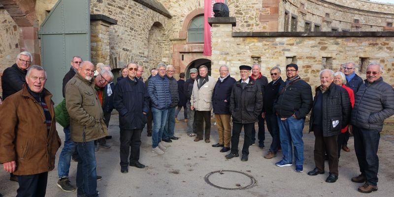 Jahresausflug des Linzer Männergesangvereins nach Koblenz