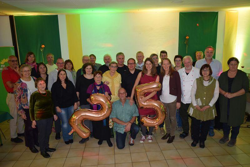 Linzer Grüne feierten 25. Geburtstag