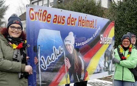 Geb�rtige Brachbacherin gewinnt Skeleton-Weltcup in Innsbruck