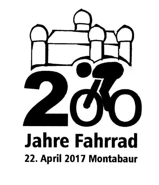 Feier aus Anlass der Erfindung des Fahrrades vor 200 Jahren