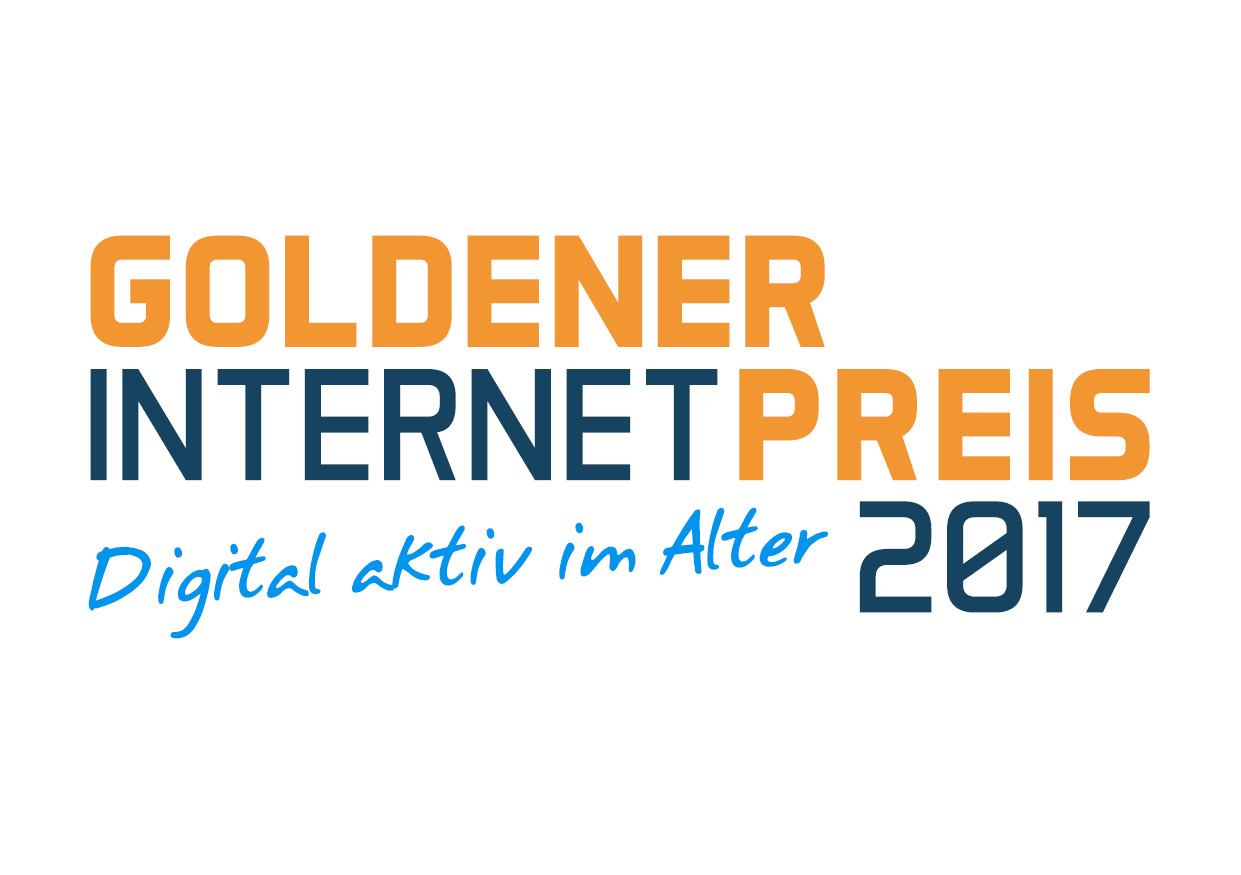 Goldener Internetpreis 2017: Digitale Kompetenzen im Alter