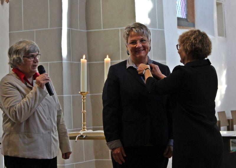 Bettina Luck aus Gemünden mit Katharina-Zell-Preis geehrt