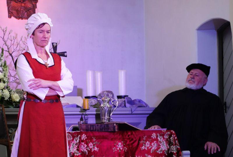 Luther im Historica-Gewölbe