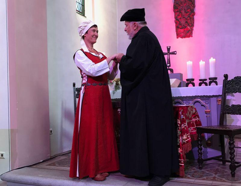 Bergbühne Wallmerod zeigte Ehepaar Luther