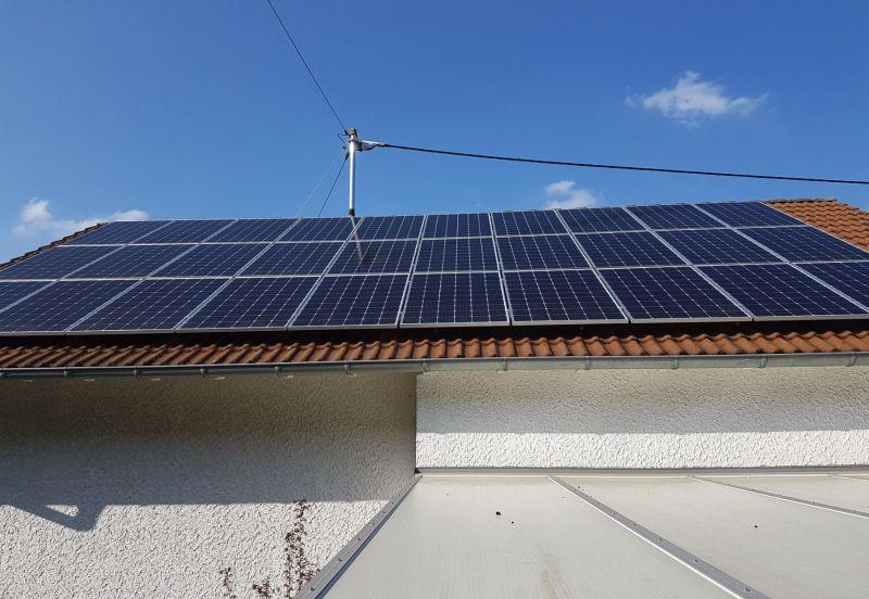 Neue PV-Anlage inklusive Speicher in Hachenburg installiert