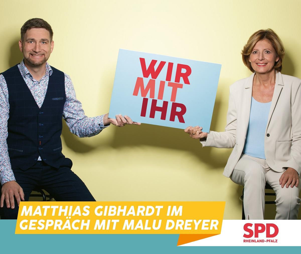 Wir mit ihr: Matthias Gibhardt im Gespräch mit Malu Dreyer