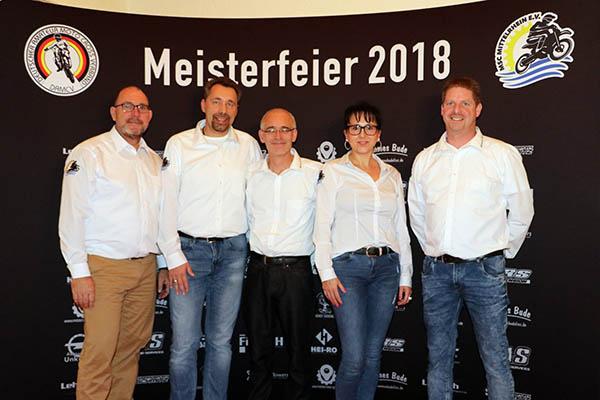 Meisterfeier 2018: Feierlicher Abschluss beim MSC Mittelrhein