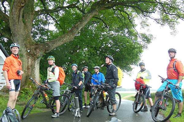 Mountain-Bike-Extrem-Tour – extrem nass