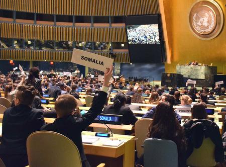 Siegener Studierende simulierten UN-Alltag in New York