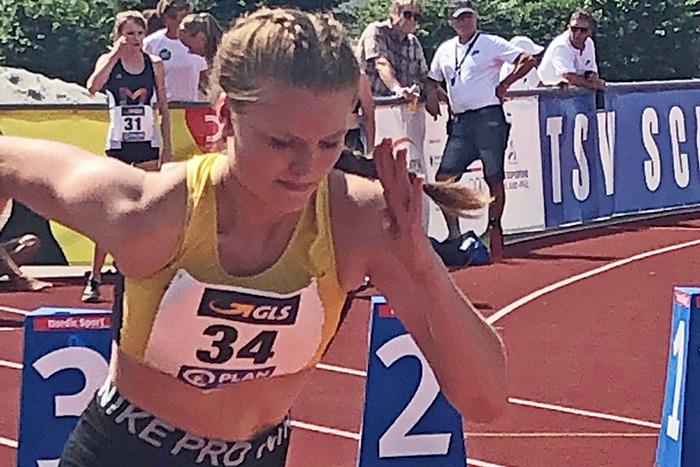 Marie Böckmann Achte bei Deutschen Mehrkampfmeisterschaften