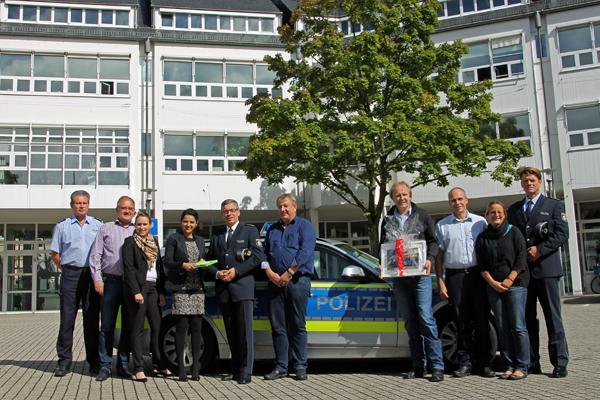 Bad Honnef verabschiedete Polizeihauptkommissar Mainzer