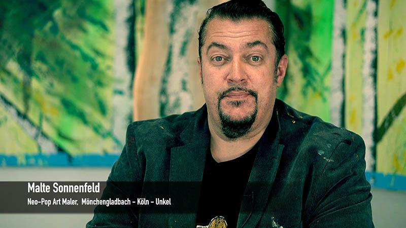 Künstler Malte Sonnenfeld kommt zu Ihnen