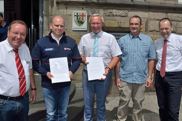 Kreis Neuwied und Malteser schließen neue Vereinbarung