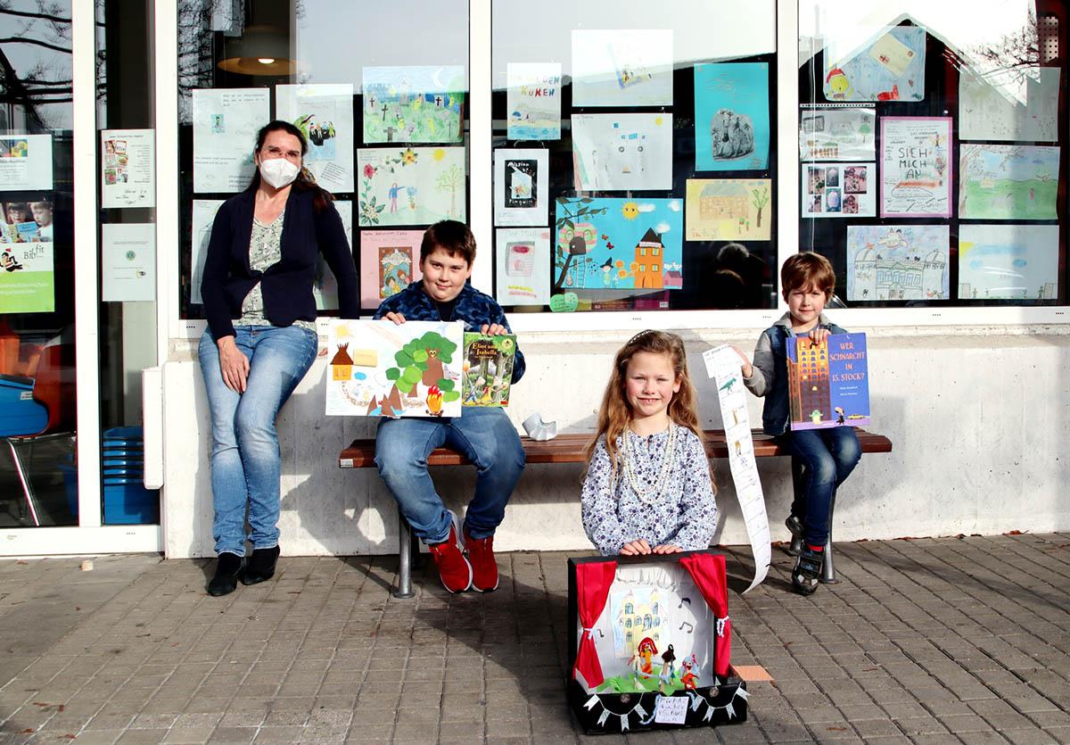 Malwettbewerb Stadtbücherei Bad Honnef mit großer Beteiligung