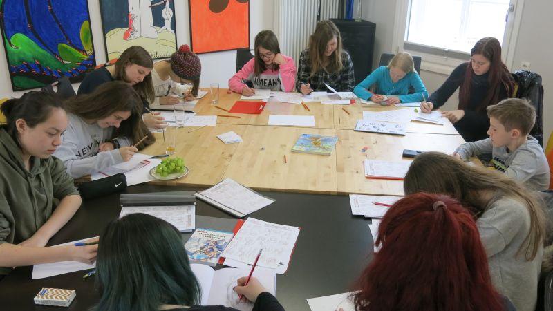 "Cooles ""Manga-Kunstprojekt"" im Jugendhaus Selters"