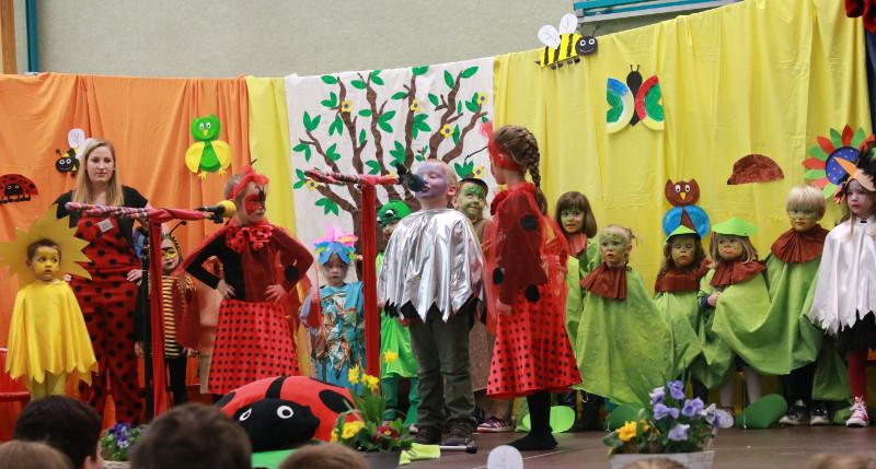 """""""Regenbogen""""-Kinder spielten mit großer Begeisterung"""