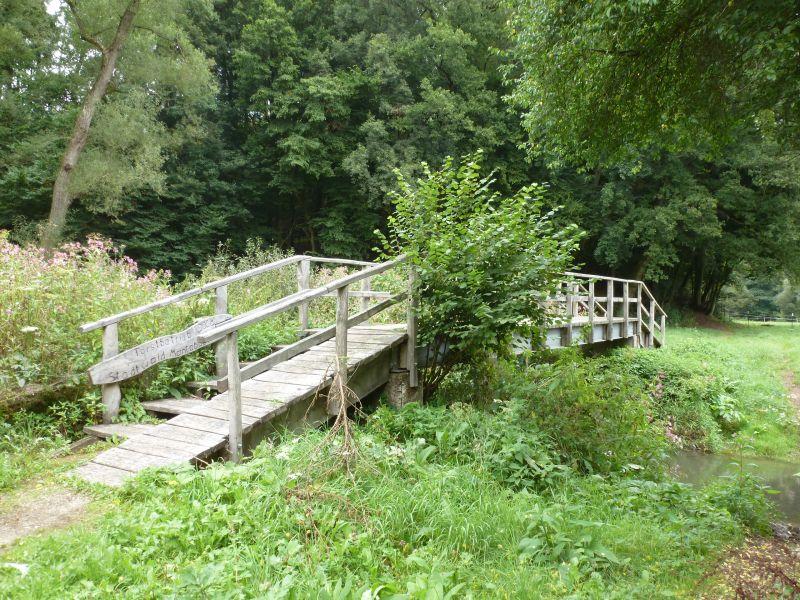 """Fußgängerbrücke """"Marauer Mühle"""" vorübergehend gesperrt"""