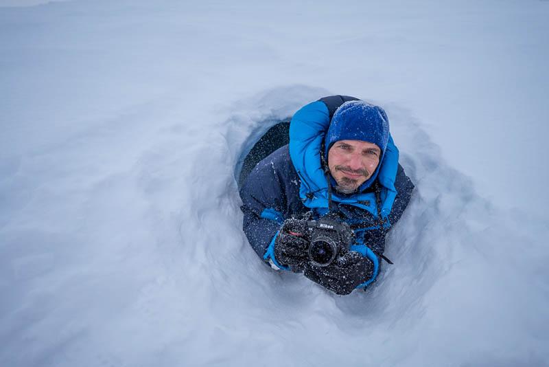 Naturfotograf Markus Mauthe kommt nach Kurtscheid. Fotos: privat
