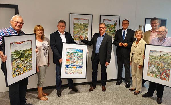 Portraits der Waldbreitbacher Gemeinden vorgestellt